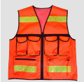 Reflective safety Jacket cycling jersey vest Windproof clothing Printing available V82901