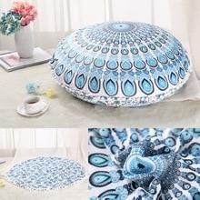 2017 Colorful Mandala Floor Pillows Ottoman Round Bohemian Meditation Cushion Pillow Pouf