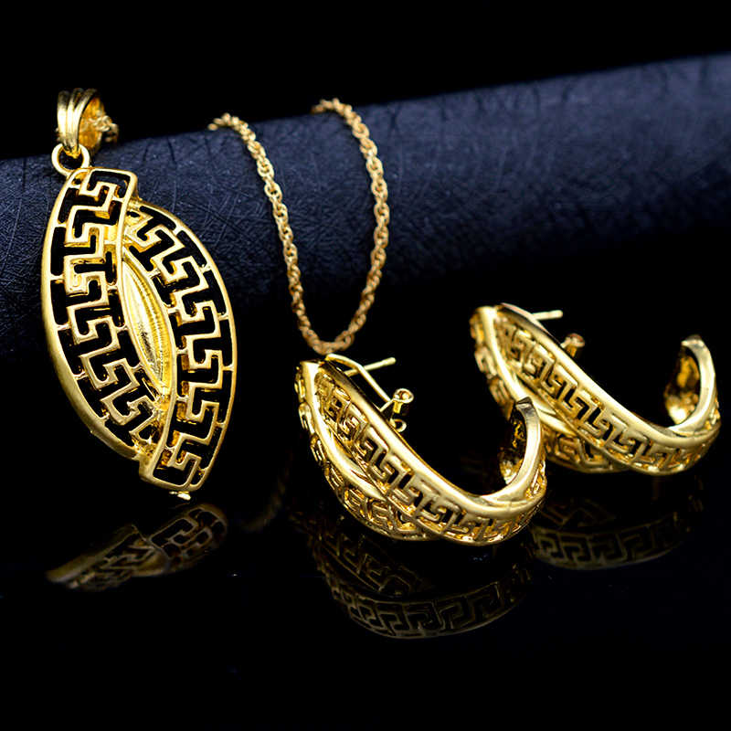 ZEA Dear Jewelry Ethnic Jewelry Sets Necklace Earrings Pendant For Party Anniversary Daily For Women Birthday Jewelry Findings