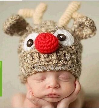61ea46456a1 2016 Christmas Baby Beanie Crochet Hat