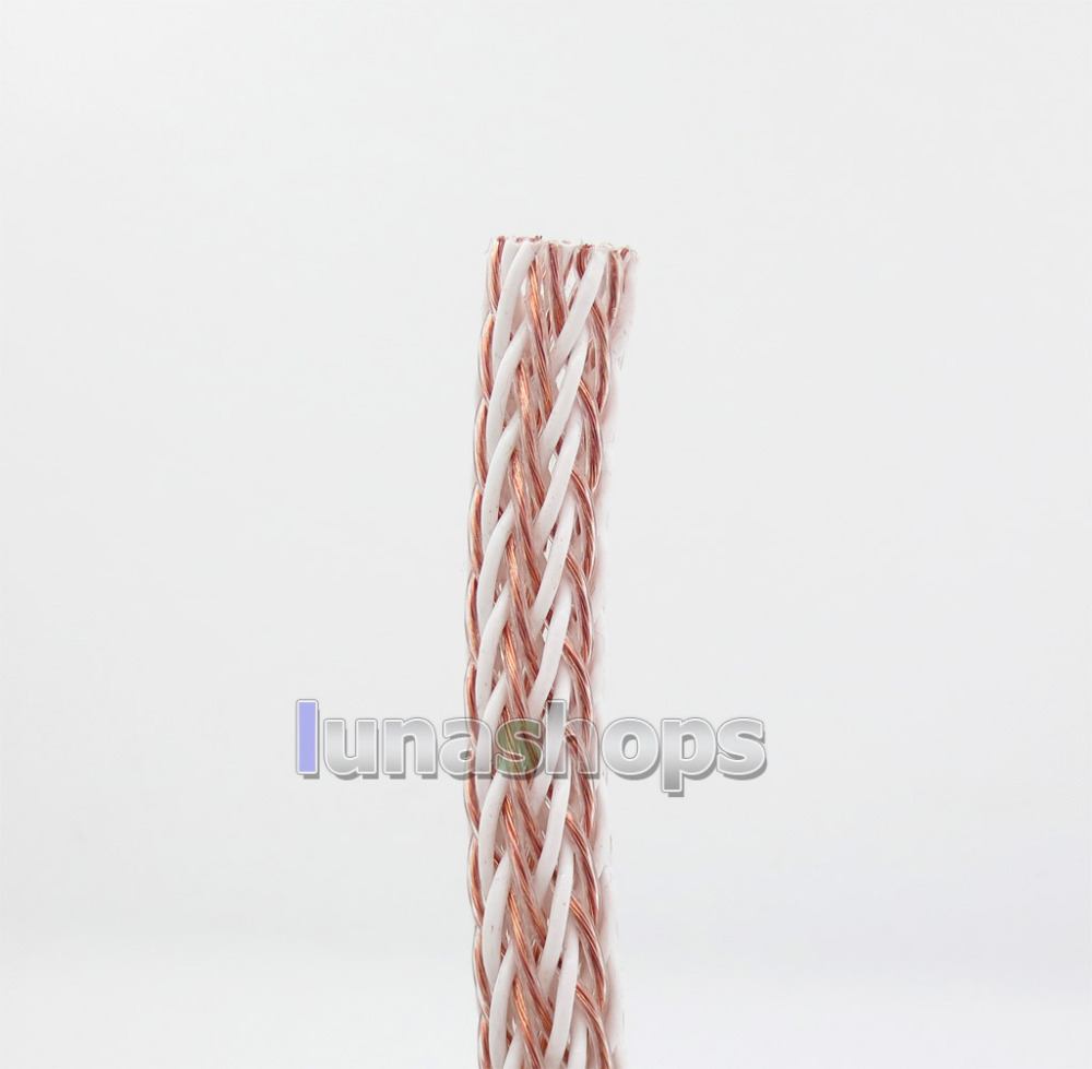 1m Acrolink 24 Cores Cu Copper + Silver Plated Mix Braided Bulk Power Wire Cable For DIY Custom LN005754