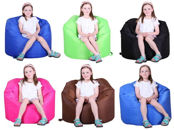 Large Classic Kids Game Bean Bag Brights in Aqua,Black,Brown,Pink,Green.ETC,Children modern portable learning chair - 13colors