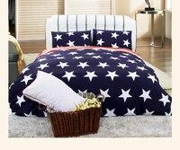 Домашний текстиль американский флаг Дизайн Постельное белье мультфильм Стиль Постельные принадлежности кровать распространения белье де