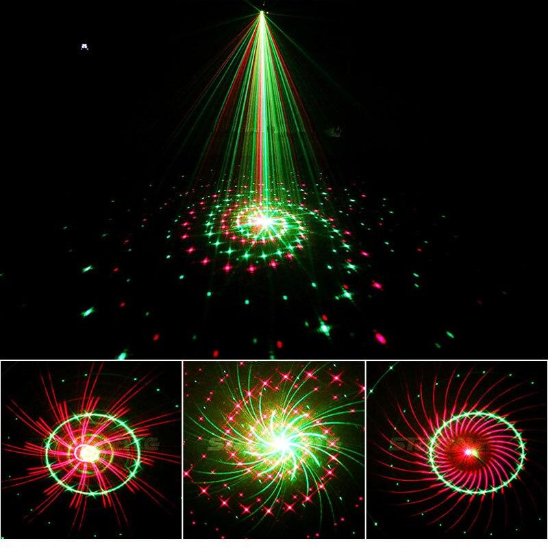 Moving Laser starry sky Light Showers effect Dynamic Lighting Projector Light waterproof indoor Outdoor Garden Dec EU / US plug
