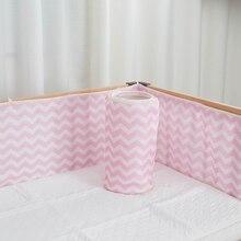 Детский бампер для новорожденных детская кровать бампер летняя детская безопасная защита дышащая сетка высокое качество детский спальный комплект постельного белья