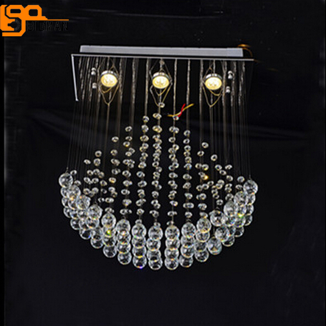 New flush mount modern rectangular chandelier crystal lamp l650 new flush mount modern rectangular chandelier crystal lamp l650w200h650mm dinning room light mozeypictures Images
