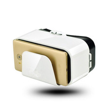 VR Virtual Reality 3D Glasses VR Box 3D Virtual Reality Glasses cardboard VR For 4.7-6.6 inch smart phone цена