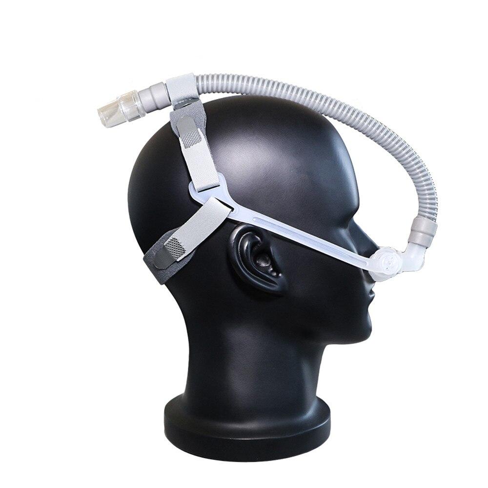Doctood WNP almohada Nasal máscara para CPAP Auto CPAP BiPAP ventilador sueño 3 tamaños cojín Universal almohadilla Anti ronquido Venta caliente - 3