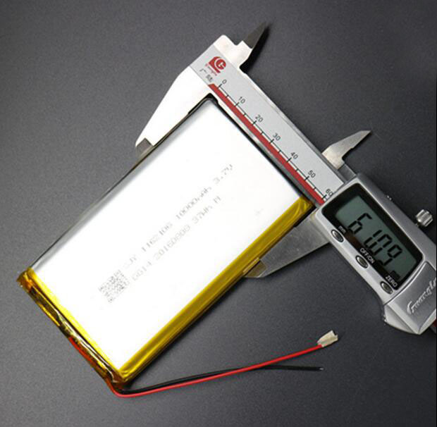 ZhiYuSun 1162106 3.7 V lithium polymer battery 10000 mah DIY mobile emergency power charging treasure battery free shipping 3 7 v 5000 mah tablet battery brand tablet gm lithium polymer battery 3088128