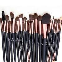 Professional 20 Pcs Makeup Brush Set Tools Make Up Toiletry Kit Wool Brand Make Up Brush