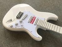 Electric Guitar/All White Anmiyue Beautiful High Quality Customized Guitar/Electric Guitar from China
