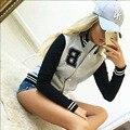 Bombardeiro mulheres sportwear casaco chaquetas mujer casaco feminino jaqueta feminina de beisebol veste femme abrigos invierno chaquetas y
