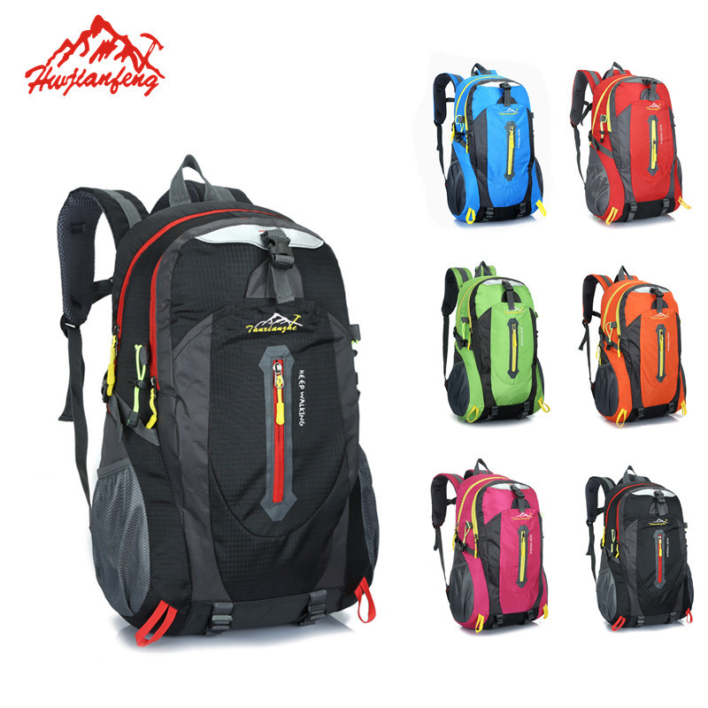 Outdoor Mens Sport Travel Backpack Womens Ski Mountaineering Hiking Climbing Camping Sport Bag Backpack