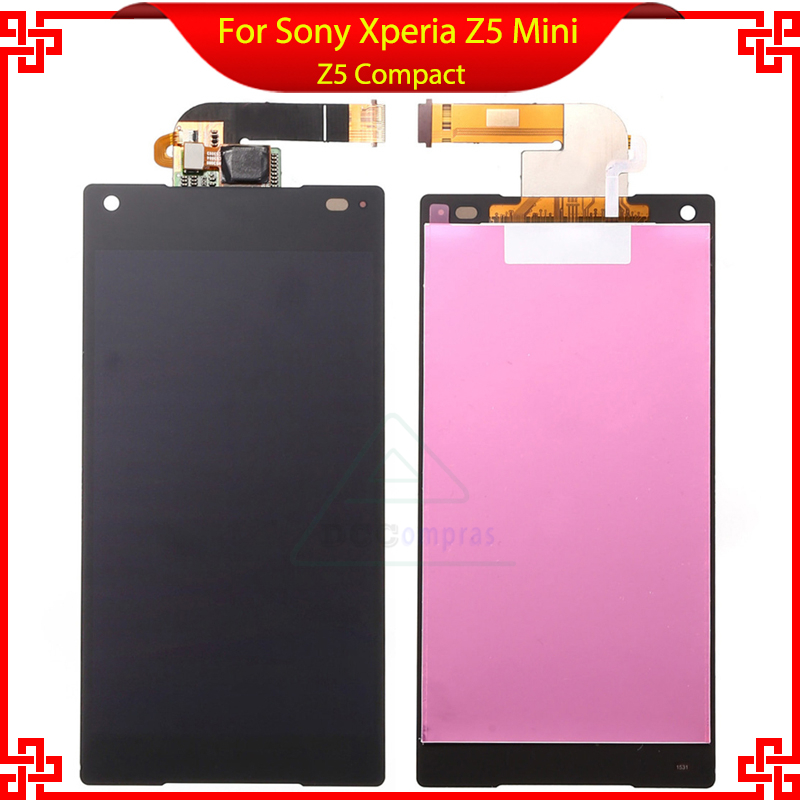 ФОТО New LCD Display For Sony Xperia Z5 Compact mini E5803 E5823 Touch Screen with Digitizer Assembly FreeTools Kit Free shipping