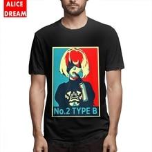Men NieR Automata T Shirt Quality Cotton AliceDram shirt Plus size New Arrival  Homme T-shirt Birthday Gift Tees