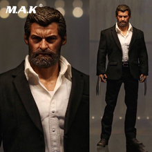 Eleven 1/6 Scale Logan Wolverine 3.0 Hugh Jackman Uncle Wolf Elderly Version W claws hands body clothing set with original box