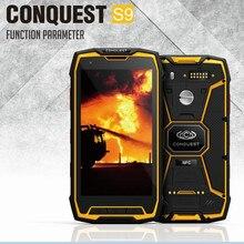 2016 Originale Conquête S9 Téléphone Robuste IP68 Étanche Octa Core13MP NFC Glonass GPS Anadroid 5.1 LVDS Caméra 6000mA S8 S6 S5
