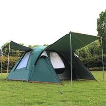 Samcamel 3 4 Person Große Familie Zelt Camping Zelt Sonnendach Pavillon Strand Zelt Tente Camping Markise Werbung/ausstellung