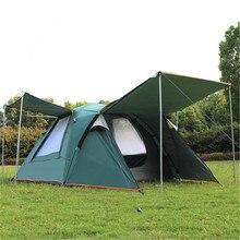 Samcamel 3 4 Persona Grande Tenda della Famiglia Tenda Da Campeggio Ripari Per Il Sole Gazebo Tenda Della Spiaggia Tente di Campeggio Tenda Pubblicità/mostra