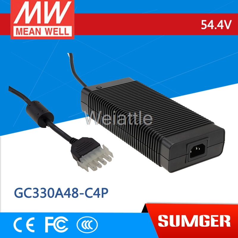 MEAN WELL original GC330A48-C4P 54.4V 6A meanwell GC330 54.4V 326.4W Single Output Battery ChargerMEAN WELL original GC330A48-C4P 54.4V 6A meanwell GC330 54.4V 326.4W Single Output Battery Charger