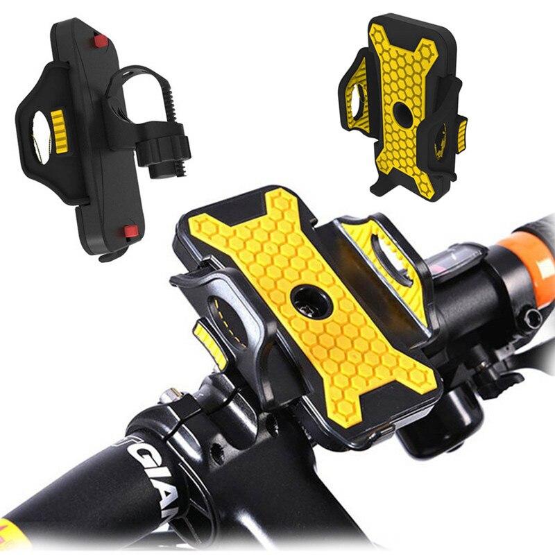 Universal Bicycle Phone Holder 54mm 84mm Width Antiskid ...