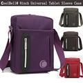 Marca de Moda 7.9 8 8.0 polegada Tablet Laptop Saco Do Mensageiro Do Ombro Da Luva tampa do caso para o ipad mini 4 3 2 saco do estilingue para os homens mulheres
