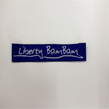 Free shipping Customized Woven Label High Definition