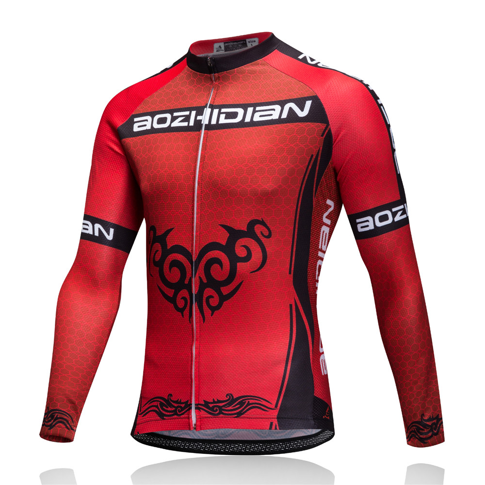 2018 Pro Red Men Women Maillot Cycling Clothing Set MTB Bicycle Wear Ropa Ciclismo Winter Thermal Fleece Cycling Jersey China in Cycling Sets from Sports Entertainment