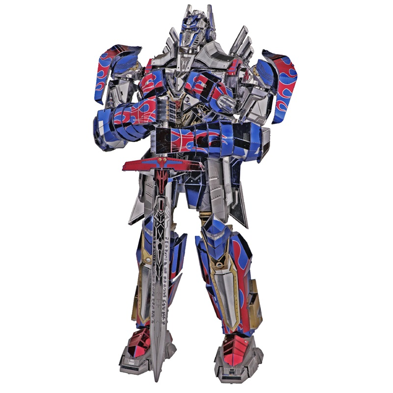 MMZ MODEL MU 3D Metal Puzzle The Last Knight Car Robots Joint Movable Model DIY 3D Laser Cut Assemble Jigsaw Toys GIFT For Adult