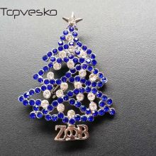 Topvesko Berlian Imitasi Zeta Phi Beta Sorority Bros Mutiara Pin Zpb Pohon Natal Kerah Pin(China)
