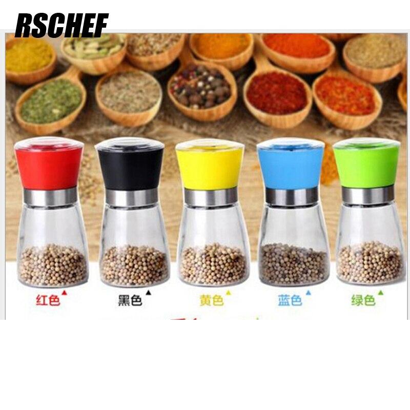 Kitchen Appliance Pepper Glass Grinder 180 ml