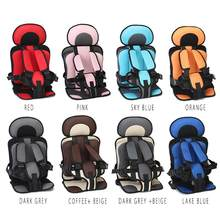 HobbyLane Portable Baby Car Seat Toddler Simple Cars Seat Cushion Infant Safe Belt Toddler Simple Car Seat for 0-4 Baby(China)