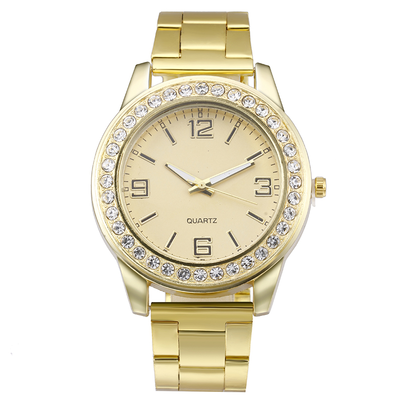 2017 New Cheap Brand Ybotti Gold Clock Women Watch ...