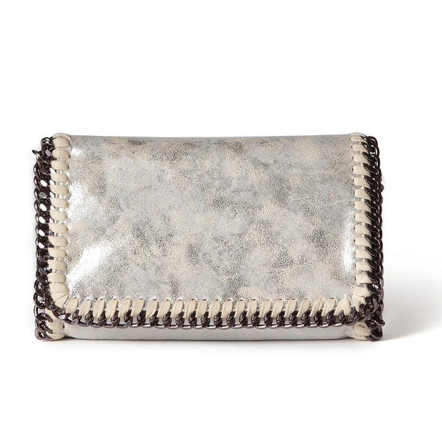 e3f4c22cf8 Fashion Womens Stella design Chain Detail Cross Body Bag Ladies Shoulder  bag clutch bag bolsa franja