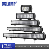 Oslamp Led Work Light 4 7 9 12 20 23 28 31 44 50inch LED Light Bar For Off Road SUV ATV 4x4 4WD Trailer Truck 12 24v