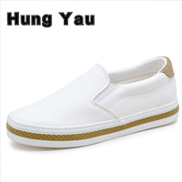 Fashion Simple Slipony Women Loafers Shoes Spring Casual Ladies Dress Pointed Toe Shallow White Walking Comfortable
