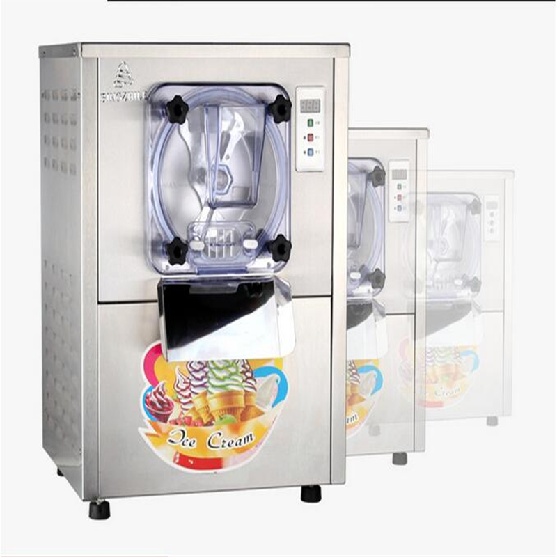 220V Commercial Hard Ice Cream Machine 15-20L/H Stainless Steel Ice Cream Maker With Large Capacity 1400W Free Shipping motorcycle trunk tail light brake turn signals with led case for honda goldwing gl1800 2006 2011