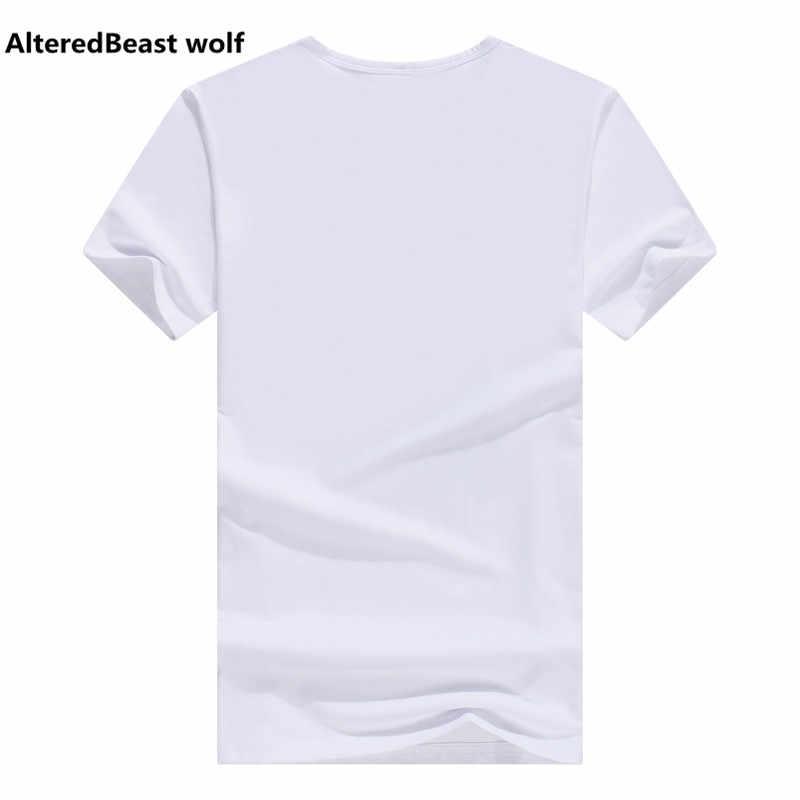 Лето 2017 г. футболка Для Мужчин Мультфильм забавная футболка Для мужчин короткий рукав Футболка брендовая одежда футболка белый аниме Для мужчин футболка