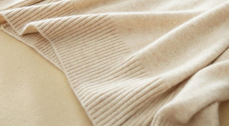 Pulls Femmes Pink bourgogne Green jaune Femme De Printemps Base Chemise bleu Thciken Tricoter olive gris kaki Arrivée lotus Cachemire blanc À noir En Mince Laine Nouvelle 2018 Roulé Col Beige Pull tq7xp