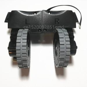 Image 1 - Left Right wheel for robot vacuum cleaner ilife v8s v80 robot Vacuum Cleaner Parts ilife V8c/V85/V8e/V8 Plus wheels motor