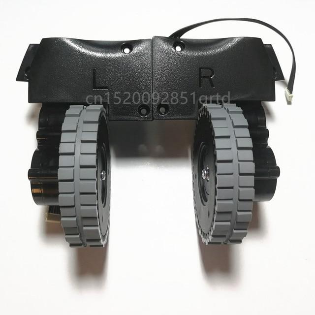 Left Right wheel for robot vacuum cleaner ilife v8s v80 robot Vacuum Cleaner Parts ilife V8c/V85/V8e/V8 Plus wheels motor
