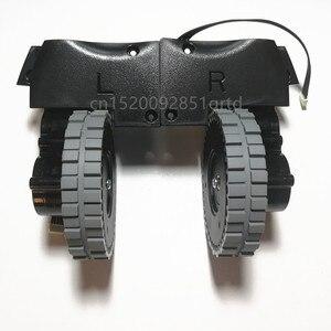 Image 1 - שמאל ימין גלגל עבור רובוט שואב אבק ilife v8s v80 רובוט שואב אבק חלקי ilife V8c/V85/V8e/V8 בתוספת גלגלי מנוע