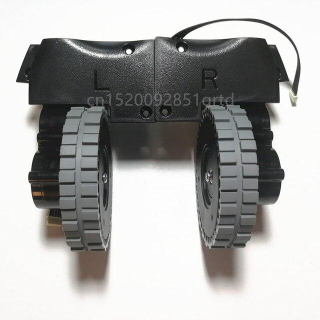 שמאל ימין גלגל עבור רובוט שואב אבק ilife v8s v80 רובוט שואב אבק חלקי ilife V8c/V85/V8e/V8 בתוספת גלגלי מנוע