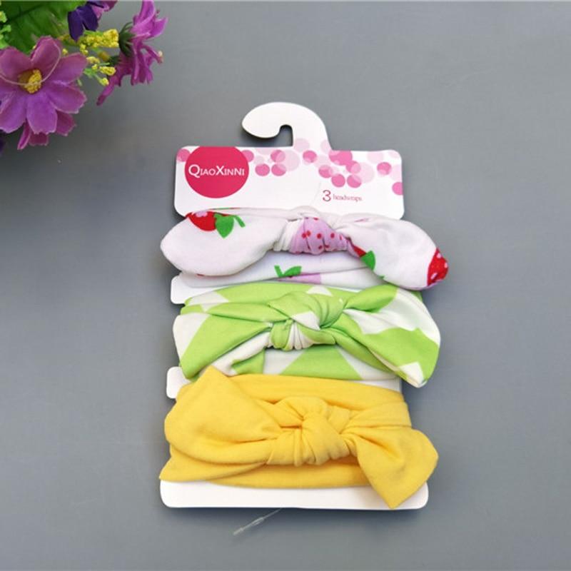 Kolorowe dziecięce opaski do włosów Urocze akcesoria dla dzieci - Odzież dla niemowląt - Zdjęcie 4