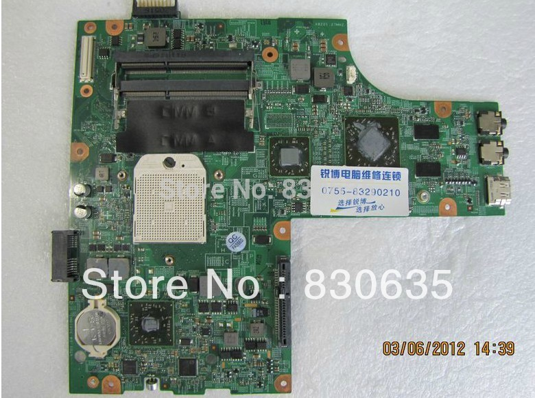 M5010 motherboard tested by system LAPTOP CASE