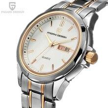 Relojes Hombres Lujo de la Marca PAGANI DISEÑO de Cuarzo Multifunción Reloj de Los Hombres Par de Buceo Militar Reloj Mujer Relogio Feminino