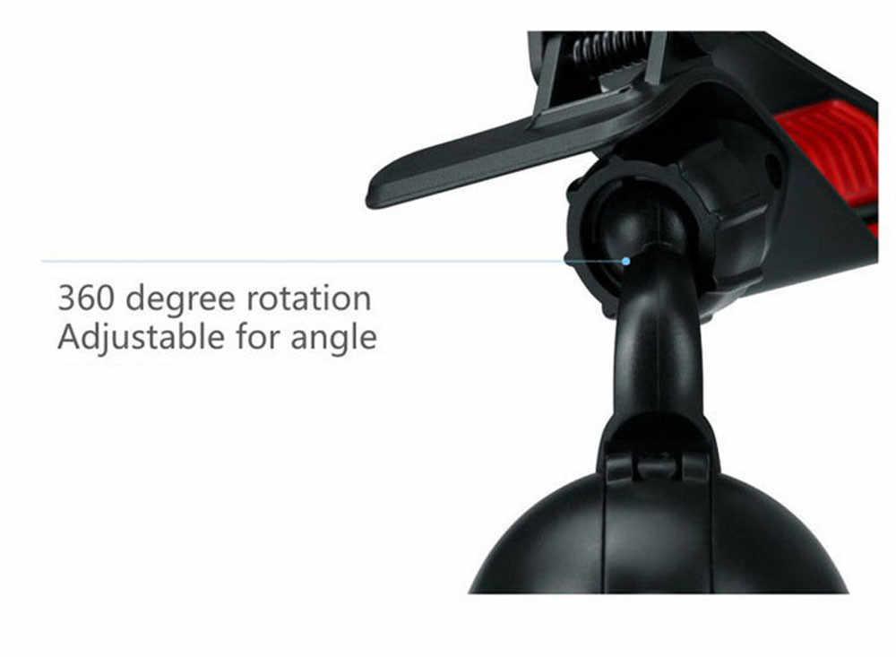 אוניברסלי אוטומטי טלפון מחזיק מעמד גדול במיוחד יניקה הר 360 Degreen עבור טלפון תמיכה 4-6 אינץ Smartphone רכב מחזיק