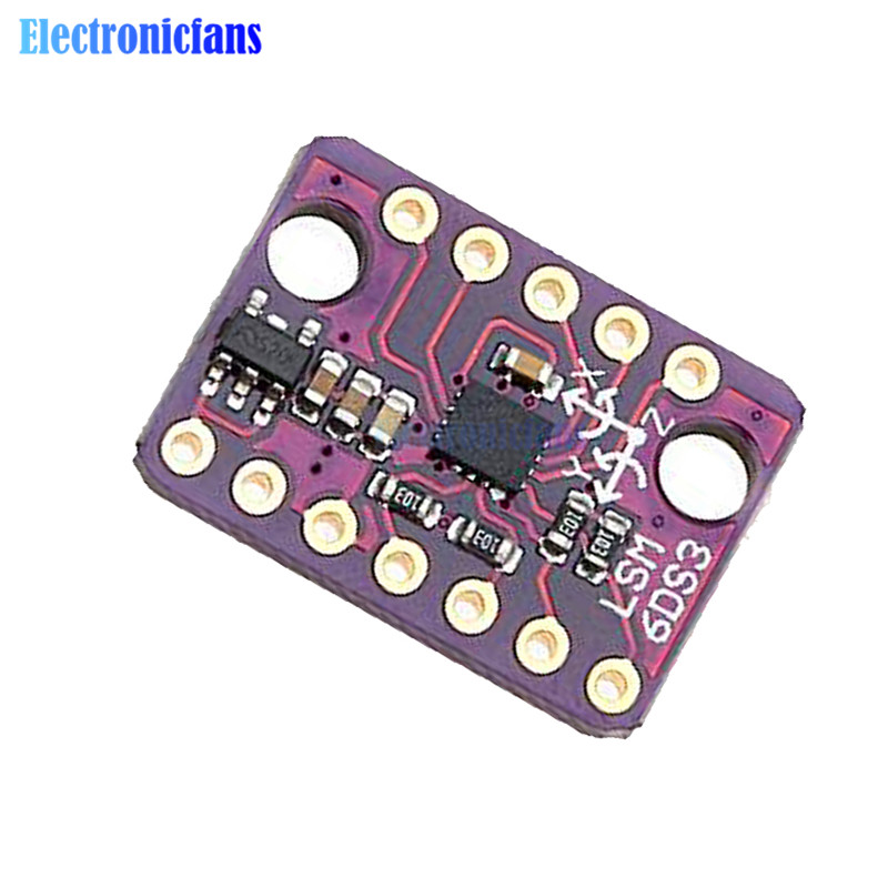 IIC//SPI LSM6DS3 module 6 Degrees of Freedom Breakout transmission Module