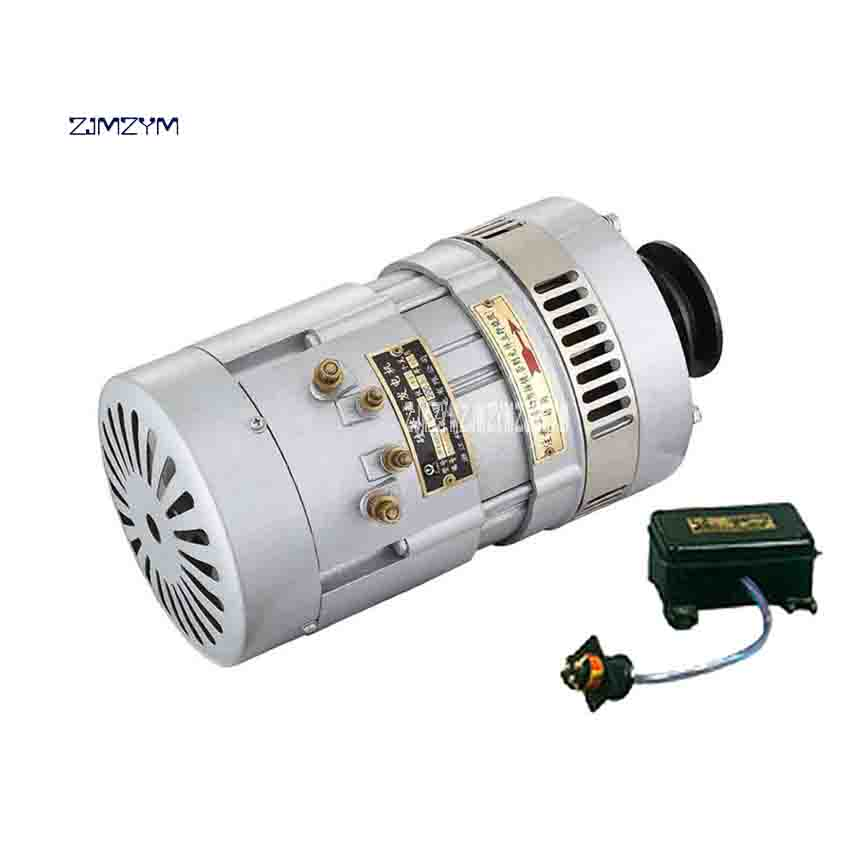 New Arrival JF1000Y Marine DC Motor 24-36V Generator High-quality 2500-3000RPM 33.5 / 28 (A) 1000W DC Generator With Regulator new arrival jex 20 marine pneumatic needle beam derusting gun 0 59mpa 4000 4500 rpm 3 8 with 13 steel needle 3mm 180mm