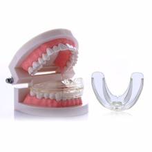 Research of High-tech Dental Transparent Materials Appliance Orthodontic Braces Teeth Retainer Tooth Care